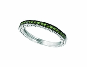Green diamond 1/2 way around band