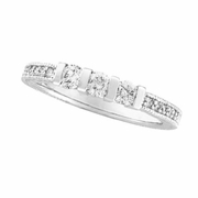 Three 3 Stone Diamond Wedding Ring