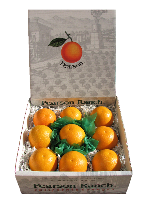 Orange Gift Box , California Citrus Gifts-Oranges