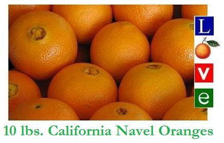 Love&#174 Premium Navel Oranges 10 lbs.