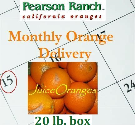 Monthly Juice Oranges 20 lbs.