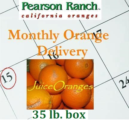 Monthly Juice Oranges 35 lbs.