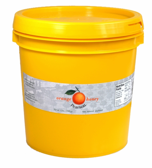 Orange Blossom Honey<br> 10 lb. pail