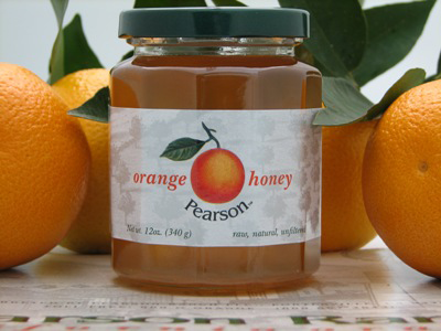 Orange Blossom  Honey 12 oz.