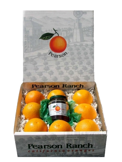 Orange Honey Gift Box