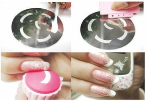 French Nail Application