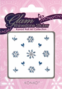 Glam Rhinestone Sticker 02