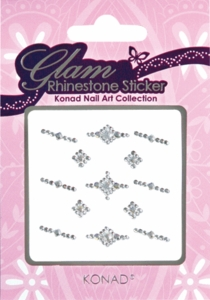 Glam Rhinestone Sticker 06