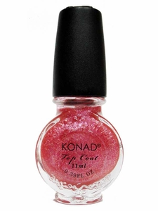 Glitter Pink Topcoat