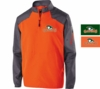 1/4 ZIP PULLOVER JACKET- ADULT