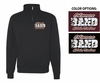 1/4 ZIP CREW SWEATSHIRT