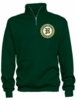 1/4 ZIP CREW SWEATSHIRT - ADULT ONLY
