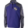 1/4 ZIP PULLOVER JACKET - EMBROIDERED LOGO