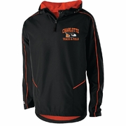 1/4 ZIP PULLOVER JACKET WITH HOOD