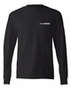 100% COTTON LONG SLEEVE T-SHIRT - MEN'S SIZING