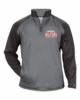 2 TONE 1/4 ZIP PERFORMANCE PULLOVER