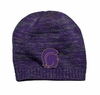 2 TONE KNIT BEANIE - EMBROIDERED LOGO - NEW!