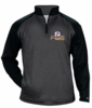 2 TONE PERFORMANCE 1/4 ZIP SWEATSHIRT - ADULT ONLY