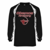 2 TONE PERFORMANCE LONG SLEEVE TEE - ADULT ONLY