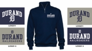 BASIC 1/4 ZIP CREW - ADULT &  YOUTH