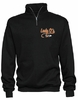 LADY O'S BASIC 1/4 ZIP CREW SWEATSHIRT