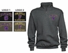 BASIC 1/4 ZIP CREW SWEATSHIRT - YOUTH AND ADULT