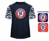 COOPERSTOWN - PERFORMANCE TEE WITH CAMO SLEEVES
