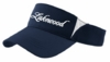 FAN VISOR WITH EMBROIDERED FRONT LOGO