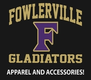 FOWLERVILLE GLADIATORS STORE