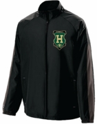 FULL ZIP JACKET WITH EMBROIDERED LOGO
