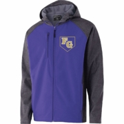 FULL ZIP SOFT SHELL JACKET WITH HOOD