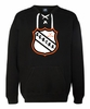 HOCKEY LACE CREW NECK SWEATSHIRT