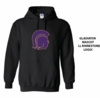 HOODED SWEATSHIRT - RHINESTONE LOGO
