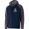 MEN'S SOFT SHELL FULL ZIP JACKET WITH  HOOD