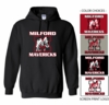 MILFORD MAVERICKS HOODED SWEATSHIRT