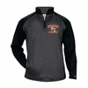 PERFORMANCE 1/4 ZIP - BLACK SLEEVES