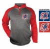 PERFORMANCE 1/4 ZIP CREW SWEATSHIRT - ADULT ONLY
