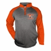 PERFORMANCE 1/4 ZIP - ORANGE SLEEVES