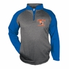 PERFORMANCE 1/4 ZIP - ROYAL SLEEVES