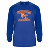 PERFORMANCE LONG SLEEVE TEE - ROYAL
