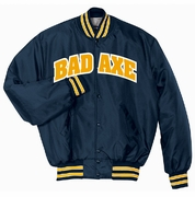 QUILT LINED JACKET - SEWN TWILL LETTERING