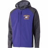 SOFT SHELL FULL ZIP JACKET - EMBROIDERED LOGO