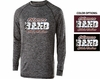 HEATHERED PERFORMANCE LONG SLEEVE TEE