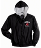FULL ZIP HOODED JACKET - EMBROIDERED LOGO