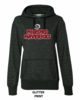 WOMEN'S GLITTER HOODED SWEATSHIRT