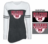 WOMEN'S VARSITY LONG SLEEVE T-SHIRT