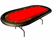 10 Player Poker Table with Folding Legs PT-7703