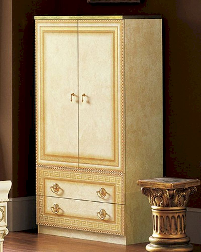 2 door wardrobe cleopatra european design made in italy 33b409 for Design made in italy