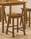 "24"" Bar Stool Homelegance EL-5302A-24 ( Set of 2 )"