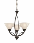 ELK 3 Light Chandelier in Oil Rubbed Bronze EK-17645-3